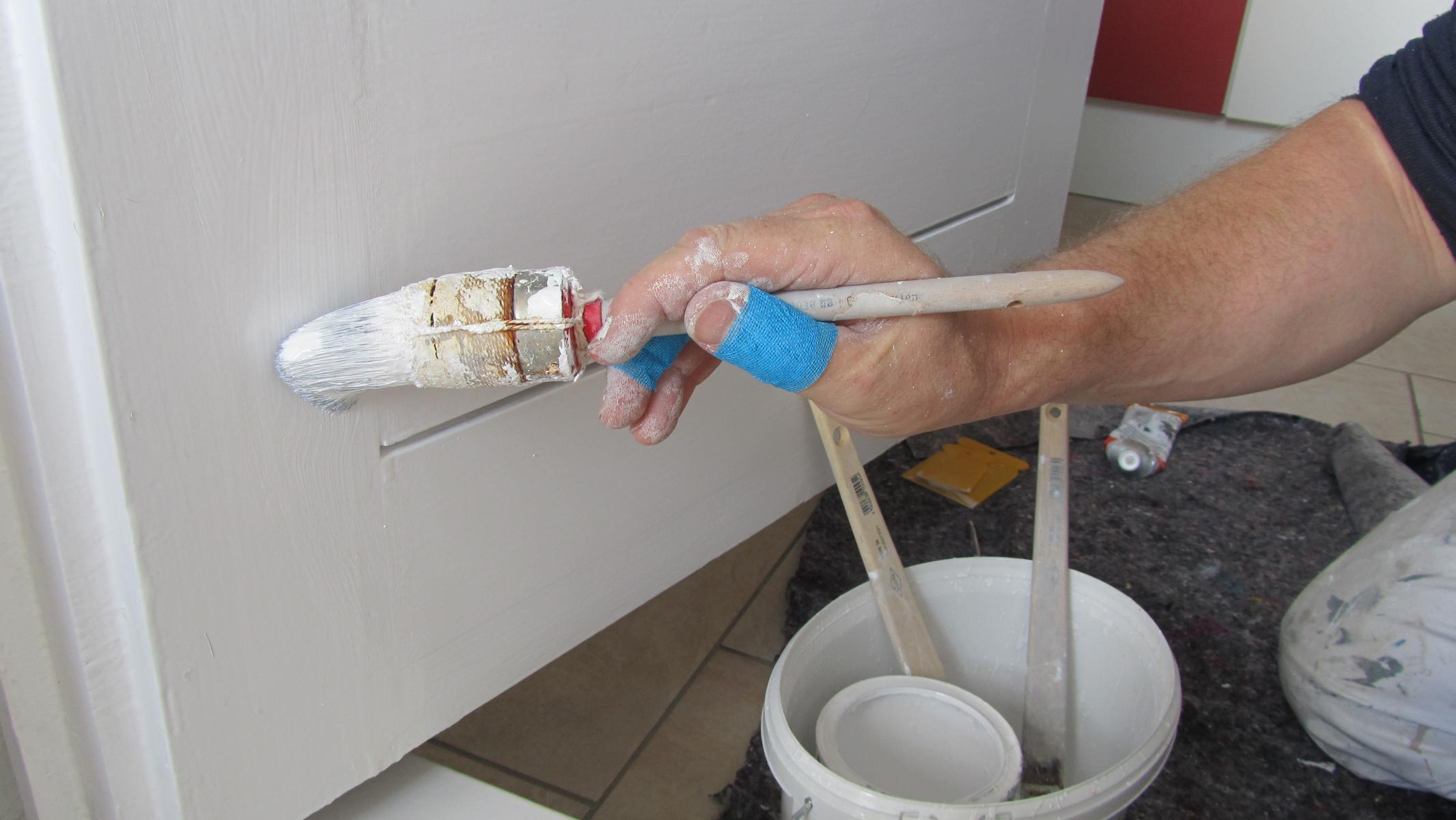 poly-TEXBAND: Hand- und Fingerschutz für Maler